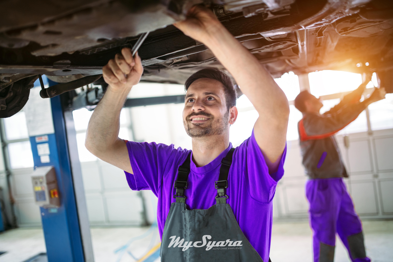 MySyara Mechanic Oil Change